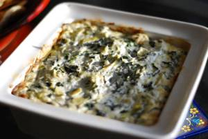 Spinach Artichoke Dip Close 2