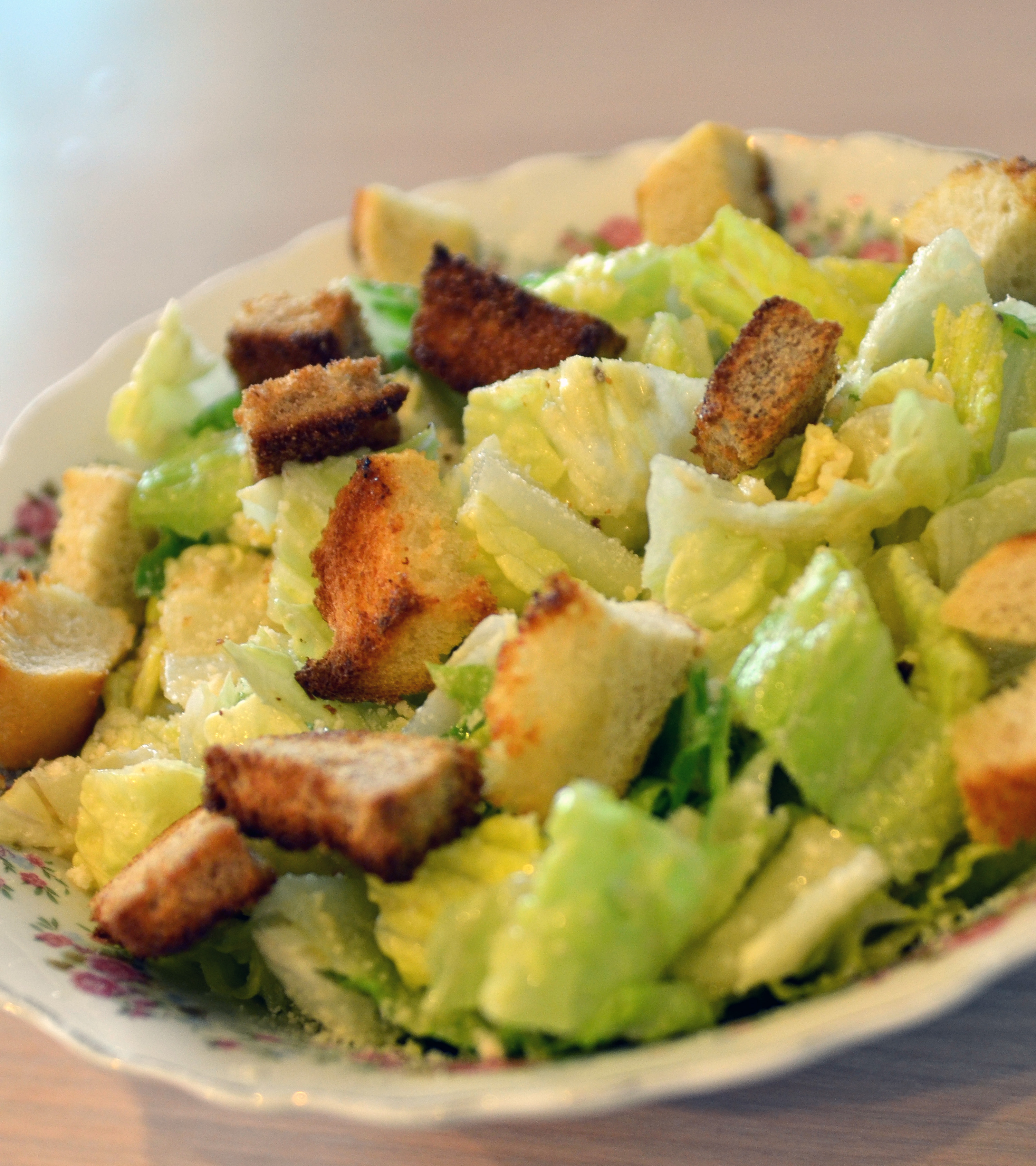 Ina Garten Shares Recipe For Perfect Homemade Croutons: Caesar Salad With Garlic Bread Croutons
